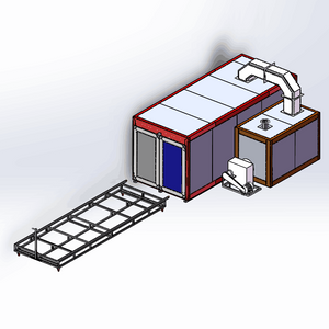 Gas Powder Coating Oven Plan