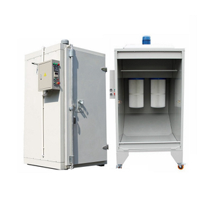 Powder Coating Booth and Oven for Sale