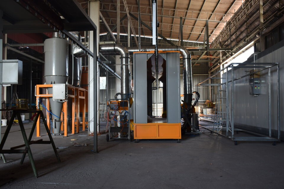 powder coating plant in Malaysia 58